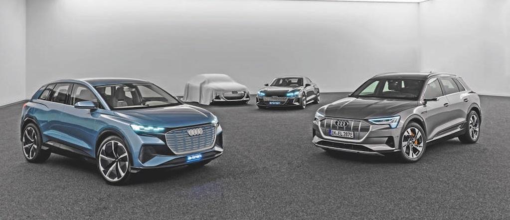 Xe EV của Audi e-tron GT