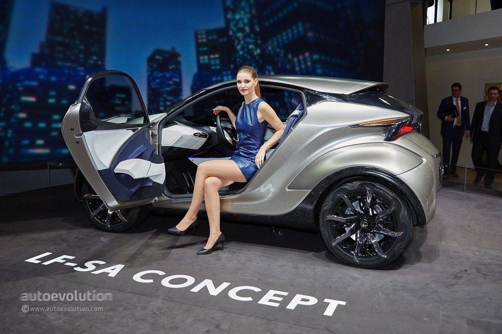 Lexus EV LF-SA Concept