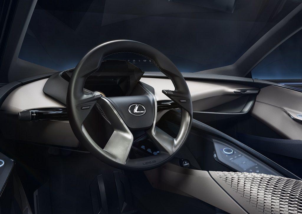 Cận cảnh bên trong Lexus LF-SA