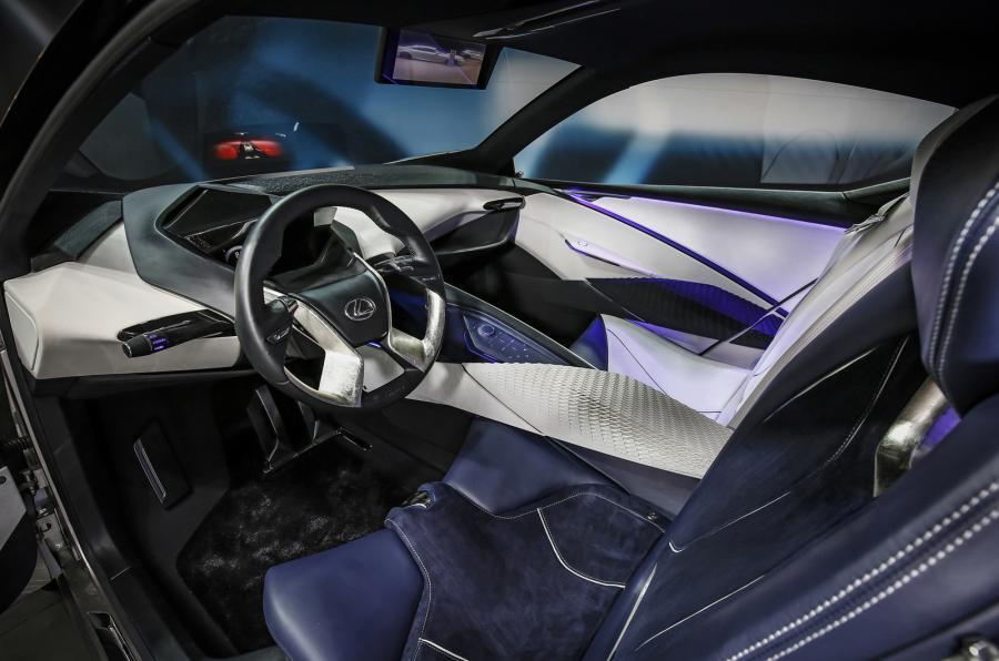 Nội thất Lexus LF-SA