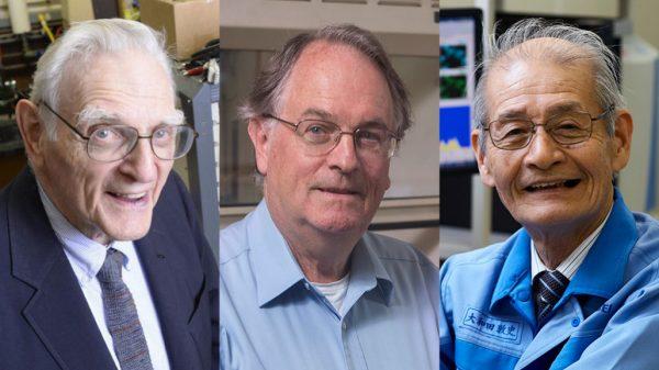 Giải Nobel Hóa học 2019