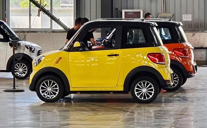 ô tô điện EV Mini - DT Motor Thái Lan