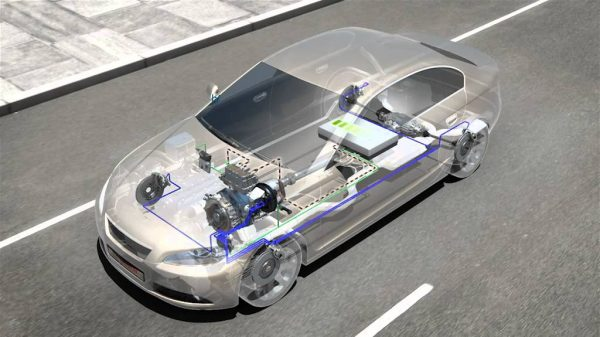 Hệ thống phanh tái sinh xe EV