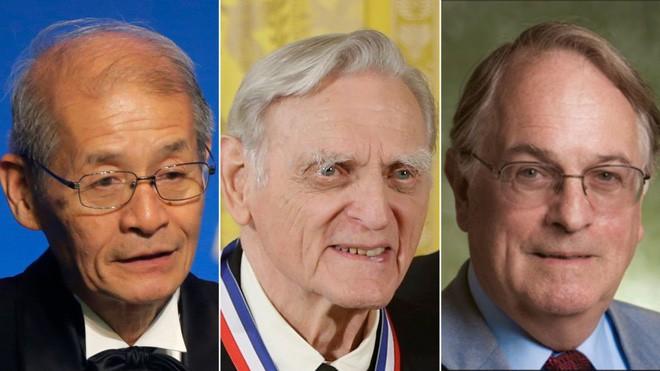 ông Akira Yoshino, ông John B. Goodenough và ông M. Stanley  Whittingham