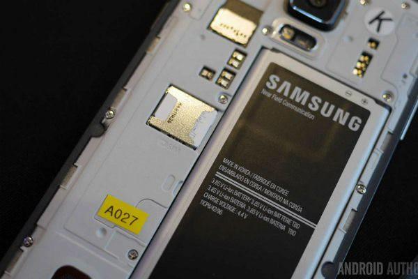 Pin lithium-ion trên Galaxy Note 4