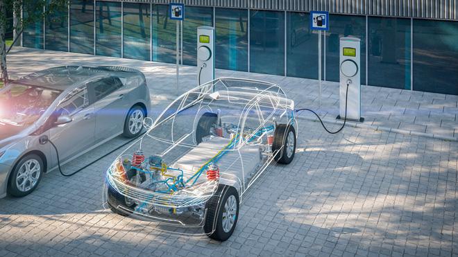 Pin xe Tesla EV