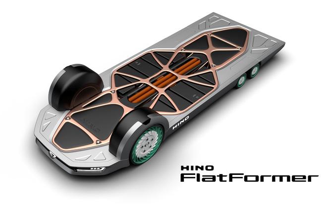 Concept xe tải điện Hino