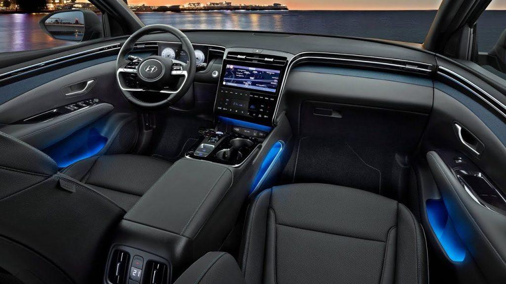 Hyundai Tucson PHEV nội thất