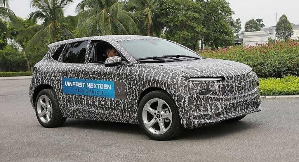 Mẫu xe ô tô điện VinFast thử nghiệm