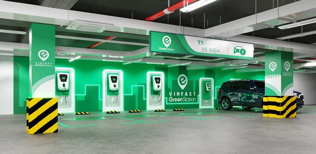 Trạm sạc điện VinFast